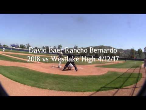 David Baer RHP Rancho Bernardo High 2018