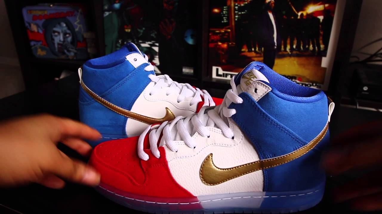 new concept dfde6 04c03 NIKE SB DUNK HIGH TRICOLOR