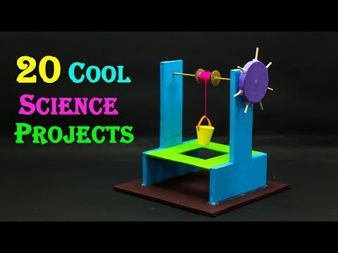 20 Cool Science Projects For School Students