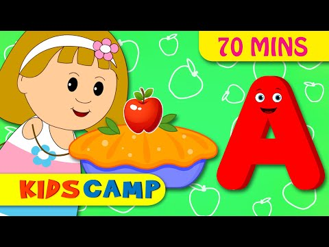 A is Apple Pie  ABC Songs for Children  Nursery Rhymes Collection for Children  KidsCamp