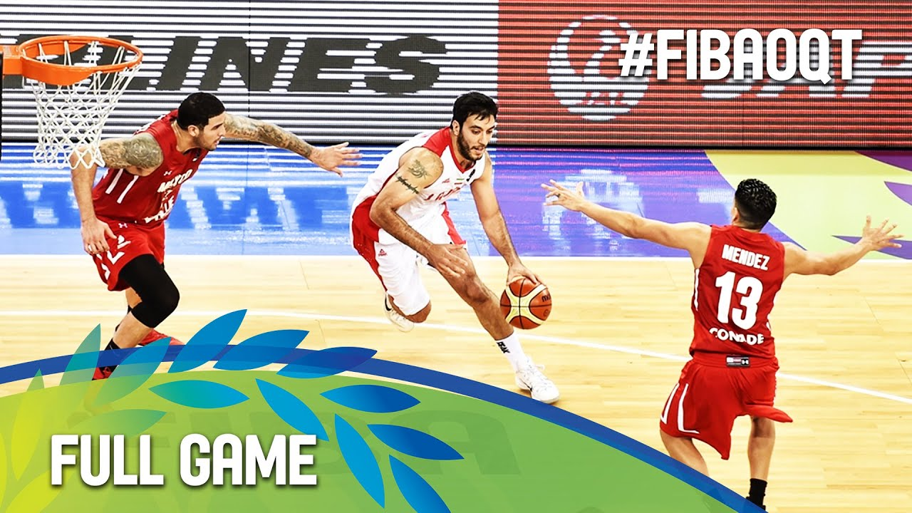 Iran v Mexico - Full Game - 2016 FIBA Olympic Qualifying Tournament