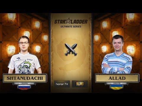 ShtanUdachi vs Allad, StarLadder Hearthstone Ultimate Series