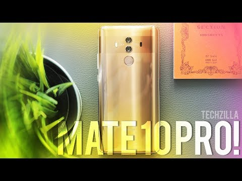 SEGUITEMI, lì c'è il FUTURO😎 - Huawei Mate 10 Pro Recensione