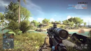 Battlefield 4 PS4 Sniper TipsTactics Naval Strike w SHAREfactory