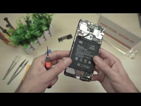 Разбираем Xiaomi Redmi Note 4 - снимаем плату и батарею