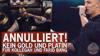 Gold und Platin von Kollegah und Farid Bang aberkannt!