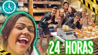 24 HORAS NA PADARIA  !!!
