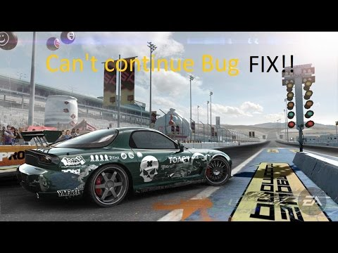 Need for Speed - Pro Street - Can't continue Bug FIX!