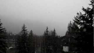 Snowing in Vail Colorado! Thumbnail