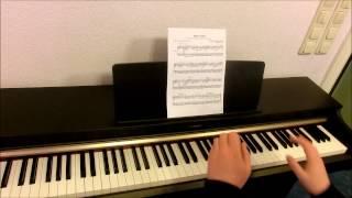 Poke Center theme piano