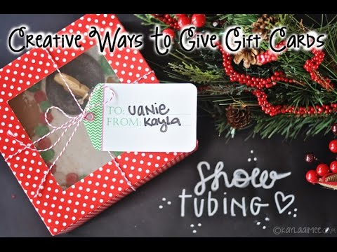 Diy Christmas Gifts Creative Gift Giving Presentation Ideas Part