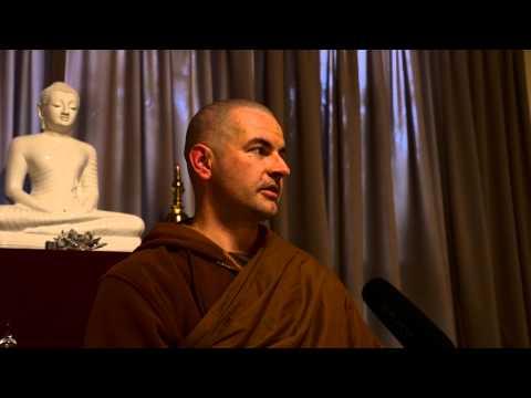 Vitakka-Santhana Sutta explained by Venerable Jag at Newbury Buddhist Monastery (5 days retreat)