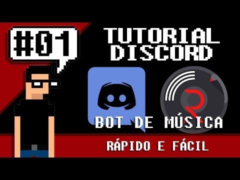 Tutorial Discord #1 - Rythm BOT - Música no Discord (rápido e fácil)