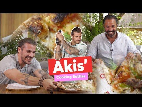 Akis' Cooking Battles   The Pizza   Άκης Πετρετζίκης