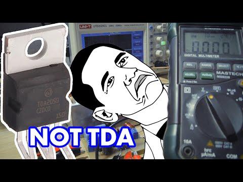 Чем плоха китайская подделка TDA2050?