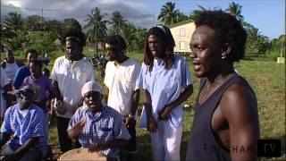 The Garifuna people in Belize.