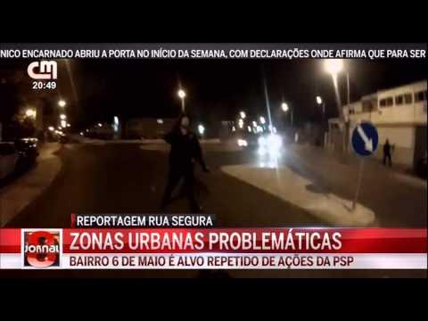 Bairros Perigosos na Zona de Lisboa Reportagem