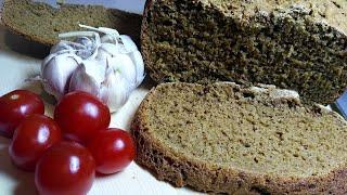 Хлебушек ржано-пшеничный в хлебопечке moulinex!