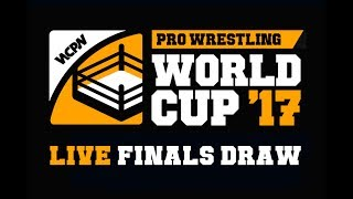 LIVE Draw For Pro Wrestling World Cup Finals Bracket thumbnail