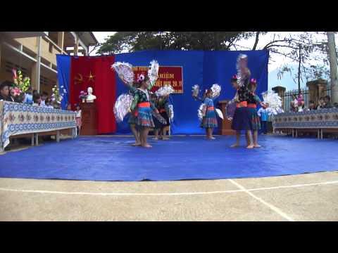 Múa Mái trường mến yêu - Trường PTDTBTTH Suối Lư