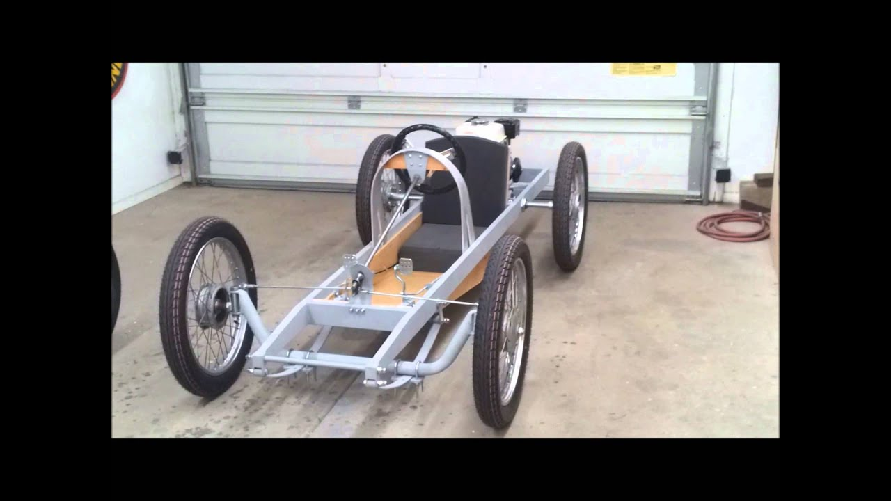 cyclekart monocar chassis  plete video of details