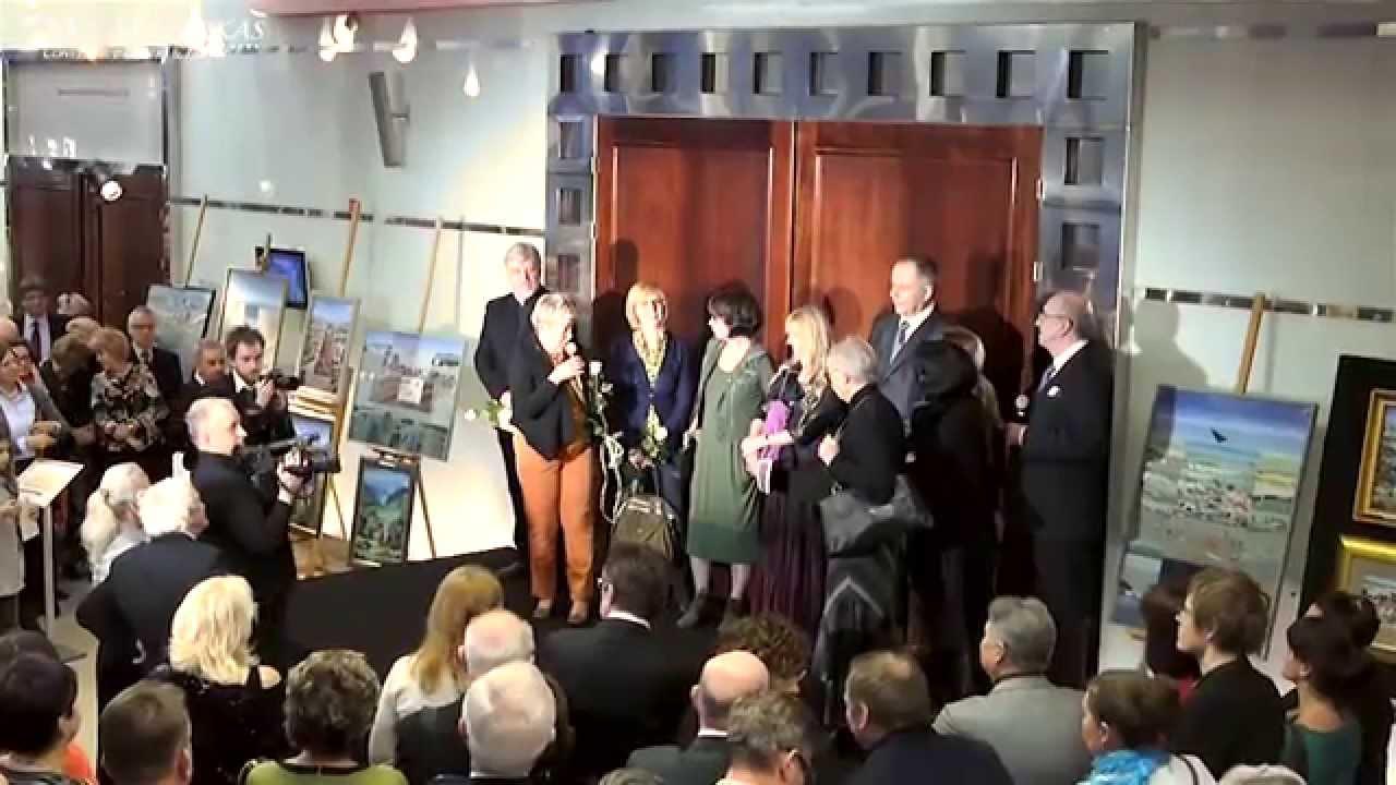 IX Forum Humanum Mazurkas-otwarcie i prezentacja wystaw  malarstwa