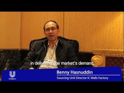 Benny Hasnudin, Sourcing Unit Director Ice Cream Walls Factory