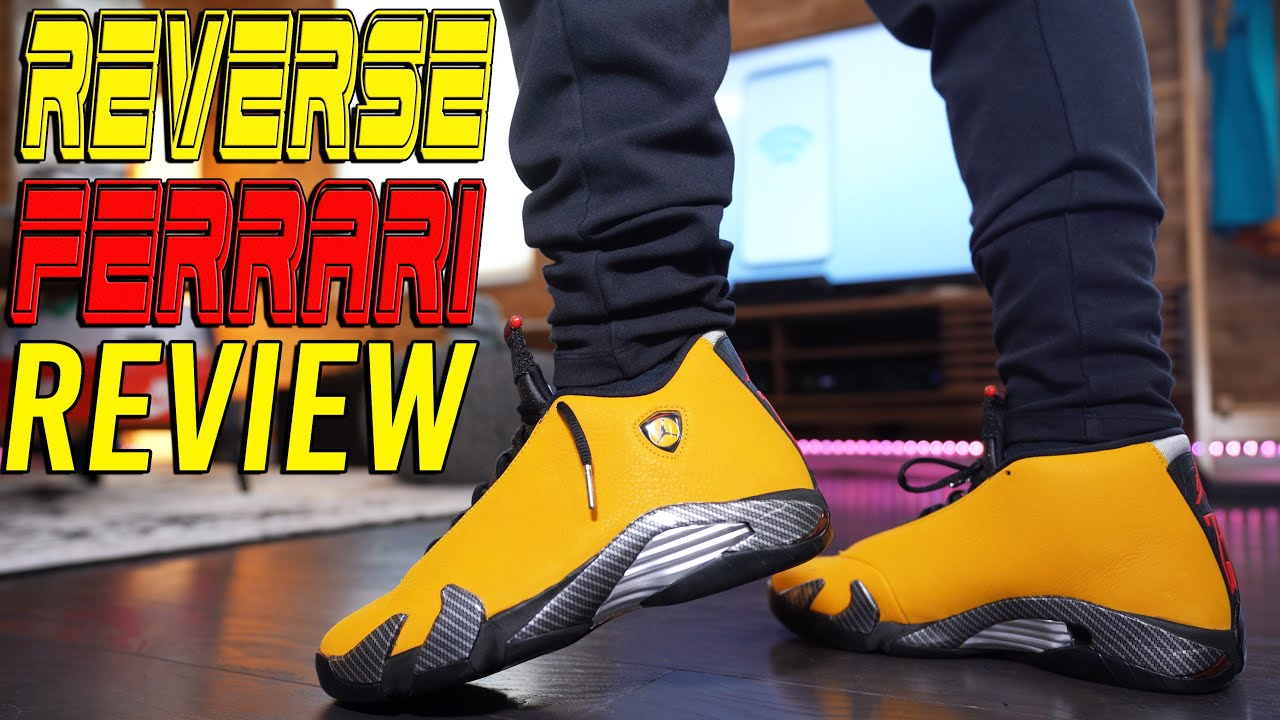 sale retailer 9582e 2271c COP OR NOT ?!? AIR JORDAN 14 REVERSE FERRARI REVIEW AND ON FOOT !!!