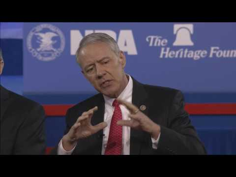 CPAC 2017 - If Heaven Has a Gate, A Wall, and Extreme Vetting, Why Can