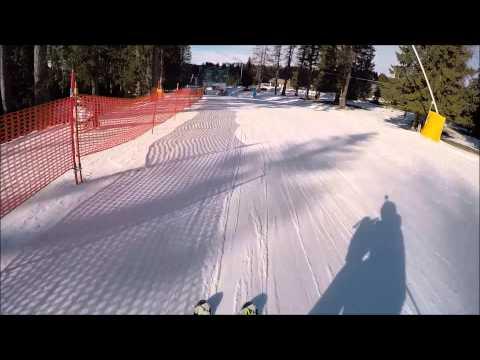 Piste da sci Facili: Carezza ski, pista blu Hubertus