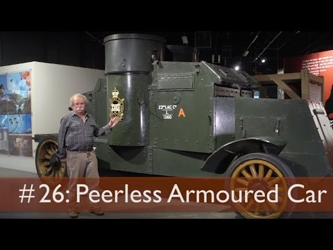 Tank Chats #26 Peerless Armoured Car