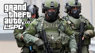 GTA 5 - LSPDFR #38 - S.W.A.T. Team! (con FACECAM)