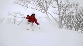 Powder Skiing in Hakuba Japan January 2016