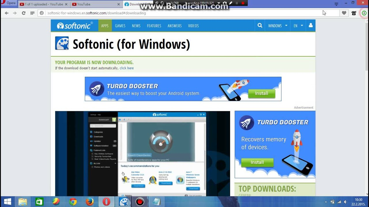 how to download softonic - YouTube