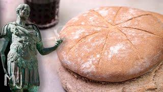 ASÍ COMÍA JULIO CÉSAR | Pan de 2.000 años de antigüedad