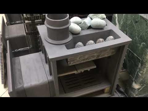 Чугунная печь для бани Гефест (ПБ-03МС)