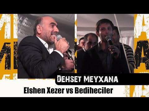 Meyxana 2012-Bineqedi Toyu-Elshen Xezer protiv Bediheciler-(FULL HD)