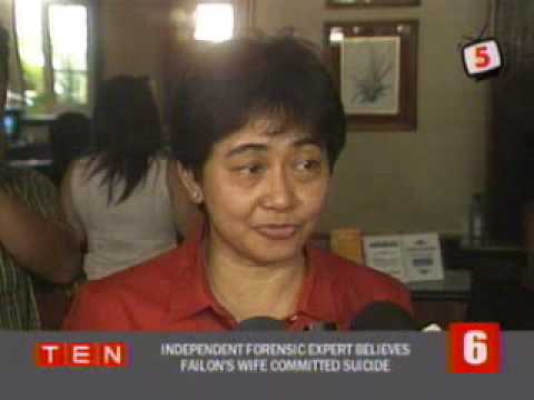 TED FAILON'S WIFE COMMITTED SUICIDE BELIEVED BY INDEPENDENT FORENSIC ANALYST