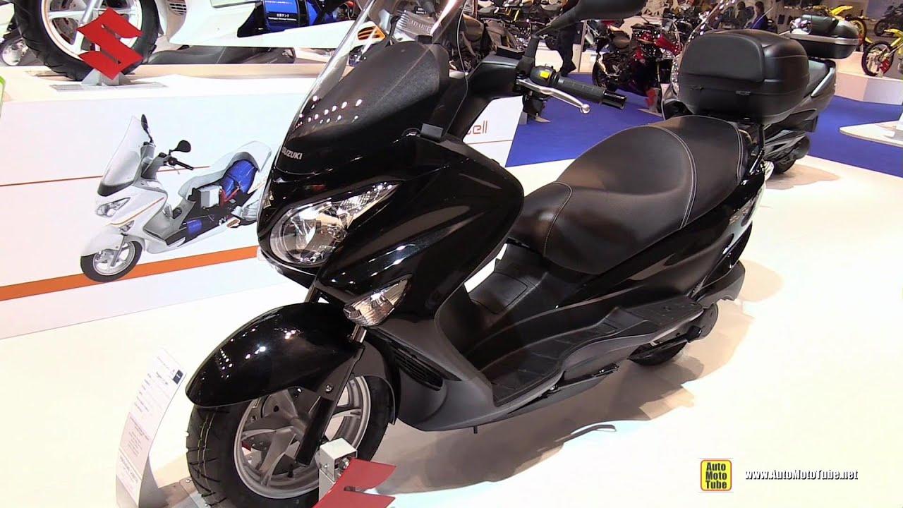 2015 suzuki burgman 125 abs walkaround 2014 eicma milan motorcycle exhibition youtube. Black Bedroom Furniture Sets. Home Design Ideas