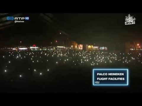 Flight Facilities - Clair De Lune (feat. Owl Eyes) @ NOS Alive 2015