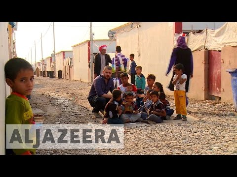 Iraq's internally displaced struggling in camps