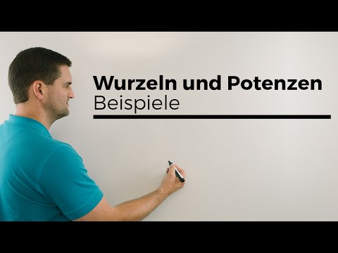 Rechnen mit Wurzeln, Hilfe in Mathe | Mathe by Daniel Jung from YouTube · Duration:  3 minutes 30 seconds