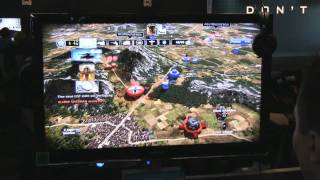 GC10: R.U.S.E. played with Move (PS3)