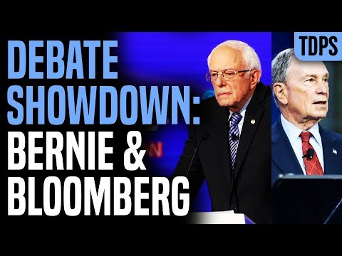Debate: Bernie vs Bloomberg TONIGHT!