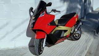 Gilera GP 800 red & gold road test - Leovince titanium exhaust - ngk iridium - bmc - full HD 1080p