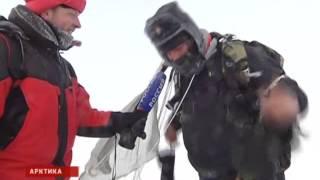 Минус 70 и сильнейший ветер: уникальные учения на Северном полюсе