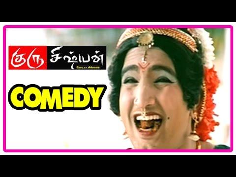 Guru Sishyan Comedy Scenes | Guru Sishyan Full Movie  | Sathyaraj, Sundar C, | Santhanam Comedy