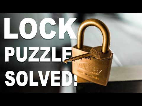 Thumbnail: Solving the IMPOSSIBLE Lock Puzzle!!
