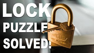 Solving the IMPOSSIBLE Lock Puzzle!! thumbnail