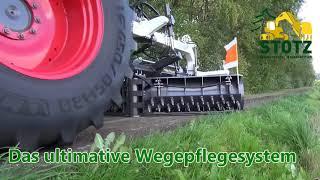Nur richtige Maschinen lösen bekannte Probleme im Wegebau und Pflege